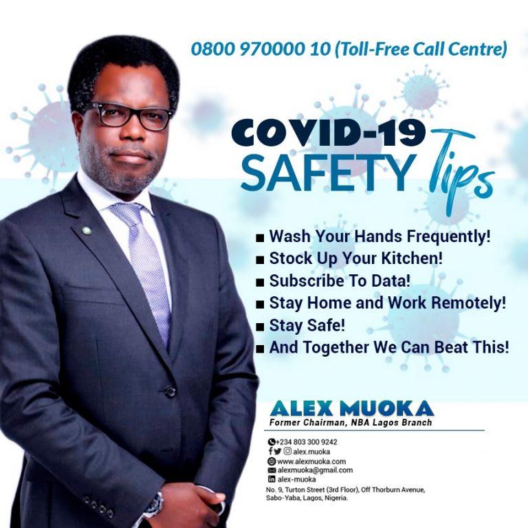 Covid19 tips Alex muoka